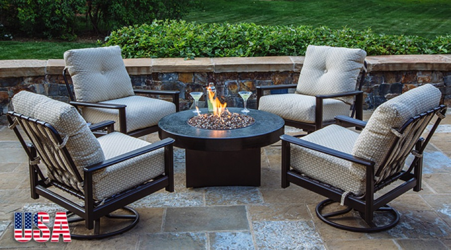 Hammered Copper Fire Pits