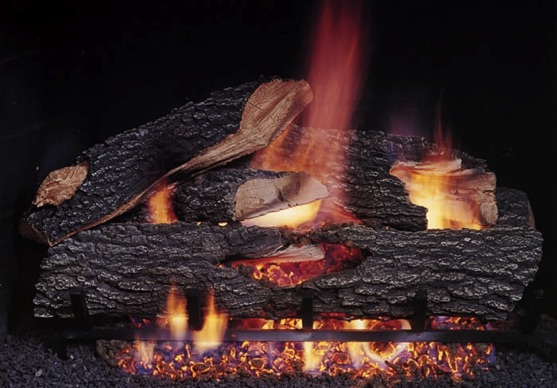Texas Bonfire Oak Gas Log Sets
